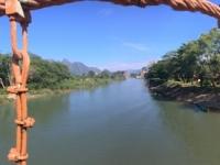 2017 11 07 Tham Chang Tropfsteinhöhle Zugangsbrücke 1