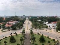 2017 11 08 Vientiane Blick vom Triumpfbogen Patuxai 1
