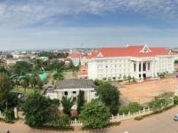 2017 11 08 Vientiane Blick vom Triumpfbogen Patuxai 2