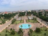 2017 11 08 Vientiane Blick vom Triumpfbogen Patuxai 4