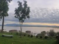 2017 11 10 Champasak Sonnenaufgang über dem Mekong