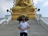 2017 10 28 Samut Songkhram Goldener Buddha Reisewelt on Tour