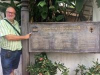 2017 11 02 Luang Prabang Wat Xiengthong Unesco Tafel