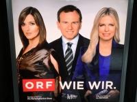 ORF Stars als Dekoration