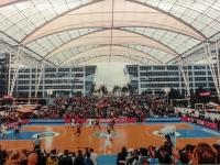 Basketballchellange am Flughafen München als Bild