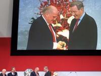 Ehrenmitgliedschaft für Karl Hopfner