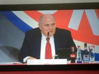 Eröffnung durch Präsident Hoeness
