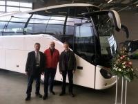 Gratulation zum neuen Bus