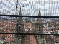 Kirchenschiff durch Gerüstnetz