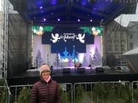 Weihnachtsbühne