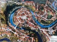 Stadtplan Krumau