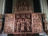 Weltberühmter Flügelaltar in der Kefermarkter Kirche