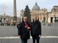 2017 12 12 Petersdom mit Franz Leitner