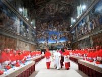 2017 12 12 Seltenes Foto_Papst 3 Minuten nach Wahl