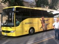 2017 12 13 Reiseweltbus mitten in Rom