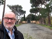 2017 12 14 Castel Gandolfo Weg zur Sommerresidenz des Papstes