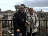 2017 12 14 Forum Romanum mit Reiseleiterin Anne