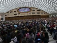 2017 12 13 Audienzhalle im Vatikan mit Franz und Gerald