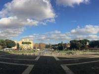 2017 12 13 Platz vor der Basilika Giovanni in Laterano