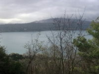 2017 12 14 Blick von Castel Gandolfo auf den See
