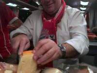 Auch Käse gibt es