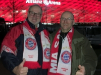 Erstmals in der Allianz Arena Onkel Walter