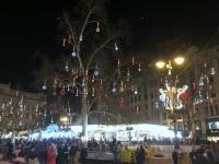 Moderne Weihnachtsbeleuchtung