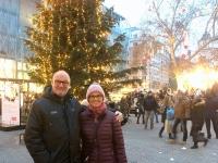 Weihnachtsbeleuchtung in der ganzen Innenstadt