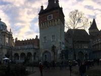 2017 12 31 Schloss Vajdahunyad aussen