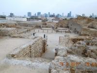 Bahrain Archäologische Stätte Qal at al Bahrain Kopfbild 1