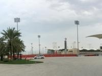 2017 02 15 Bahrain Int Circuit Rennstrecke mit Haupttribühne
