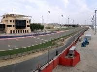 2017 02 15 Bahrain Int Circuit Rennstrecke mit Vorfeld