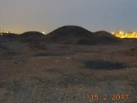 Burial Mounds Grabhügel bei Nacht