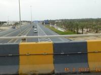 Dammstrasse nach Saudi Arabien