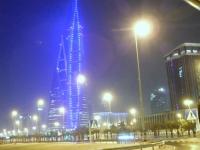 Fahrt durch das nächtliche Manama