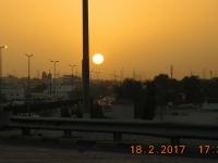 2017 02 18 Kuwait Sonnenuntergang