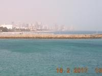 Blick auf Kuwait City