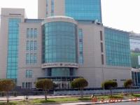 Olympisches Zentrum von Asien gegenüber dem Scientific Center