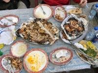 Perfektes Kuwaitisches Essen nachher