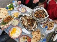Perfektes Kuwaitisches Essen vorher
