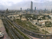 2017 02 17 Blick von einem der Kuwait Towers