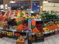 2017 02 17 Gemüseabteilung in der Markthalle