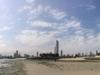 2017 02 17 Kuwait Towers im Panorama