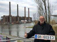 2017 02 27 Wolfsburg Autostadt mit neuem Kennzeichen