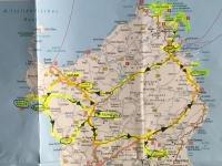 Norden von Sardinien wird bereist