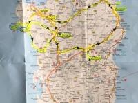 Routenplan dieser Reise