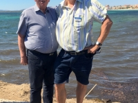 2017 05 28 Alghero Erster Strandspaziergang mit Alois