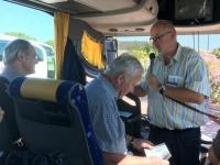 2017 05 28 Ankunft in Olbia Erste Besprechung im Bus