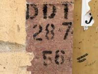 2017 05 30 Bosa Spuren für DDT Gas wegen Mücken