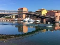 2017 05 30 Bosa mit einzig schiffbaren Fluss auf Sardinien